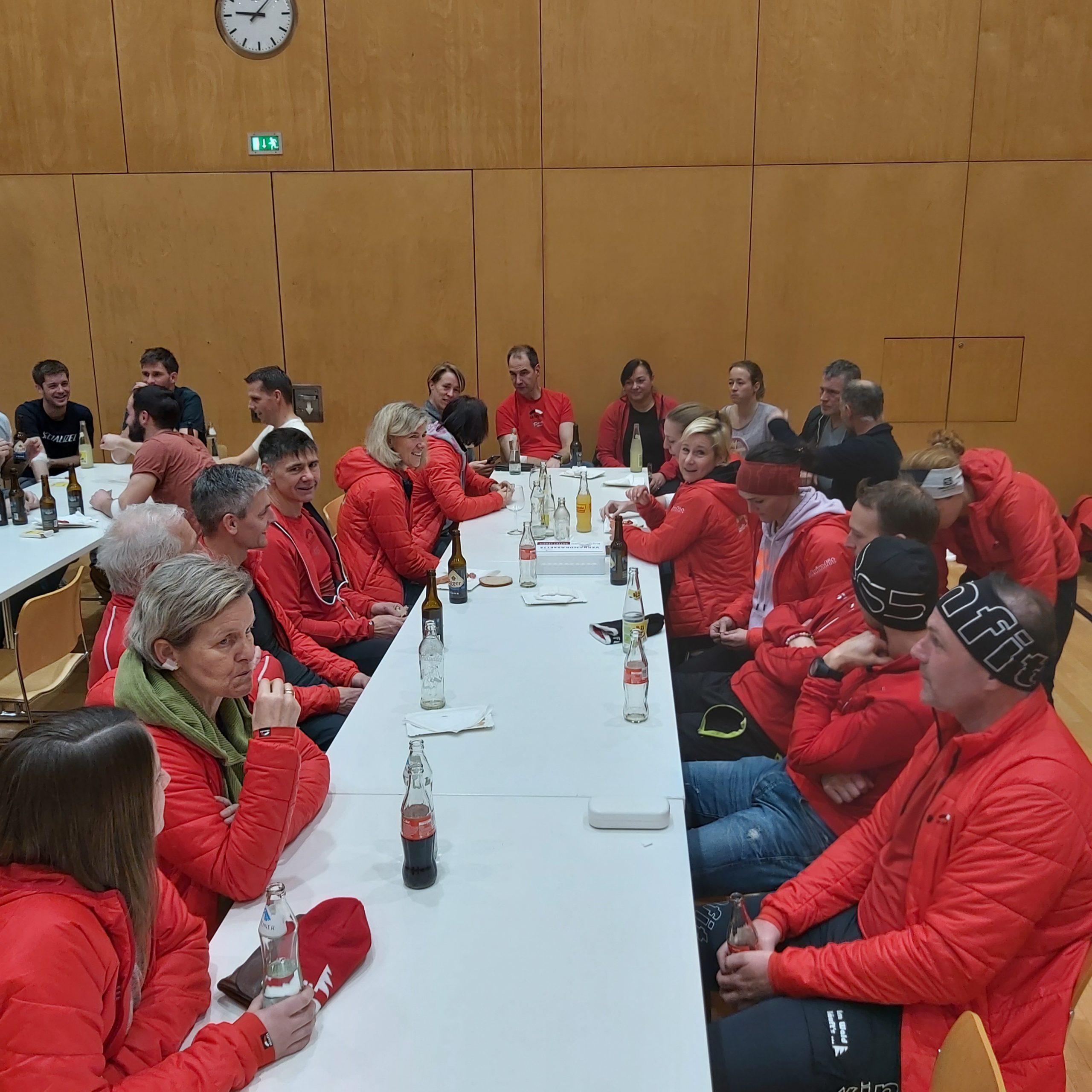 22.01.2020 Mittwochlauf in Lingenau mit Blutspendeaktion